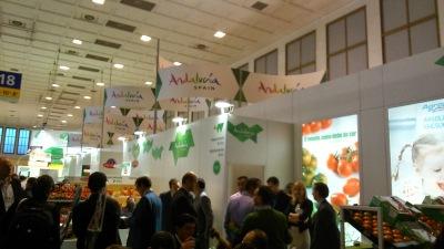 Fruit Logistica 2014. Pabellón de Andalucía