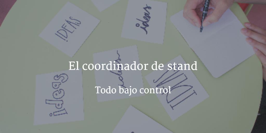 coordinador de stand