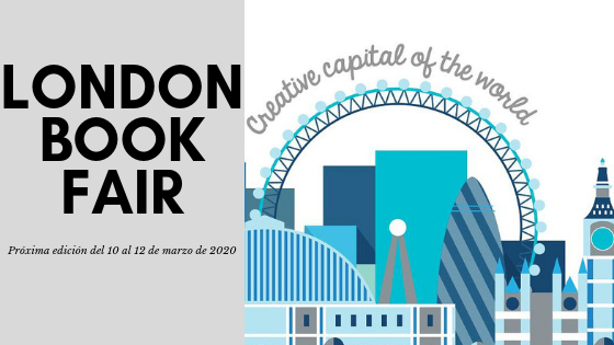 London Book Fair 2020, del 10 al 12 de marzo